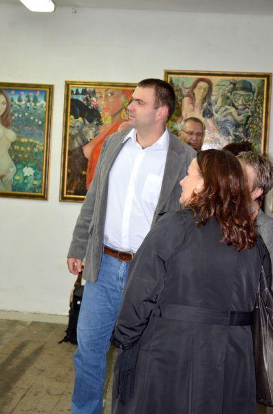 Vernisáž výstavy M. Rabocha – Straňany 20. 9. 2013