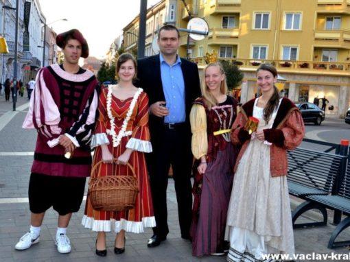 """Královská družina na """"Lannovce"""" v ČB – 8. 10. 2013"""