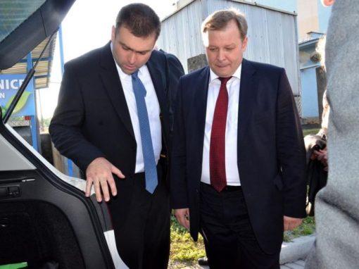 Delegace ze Sverdlovska v Motoru Jikov a.s.