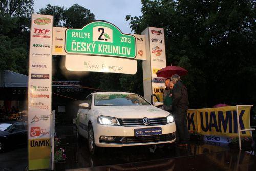41. ročník Rallye Český Krumlov 24. – 25. 5. 2013
