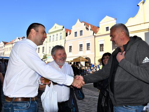 Třeboňské slavnosti a setkání se starostou Janem Váňou 25.9. 2021